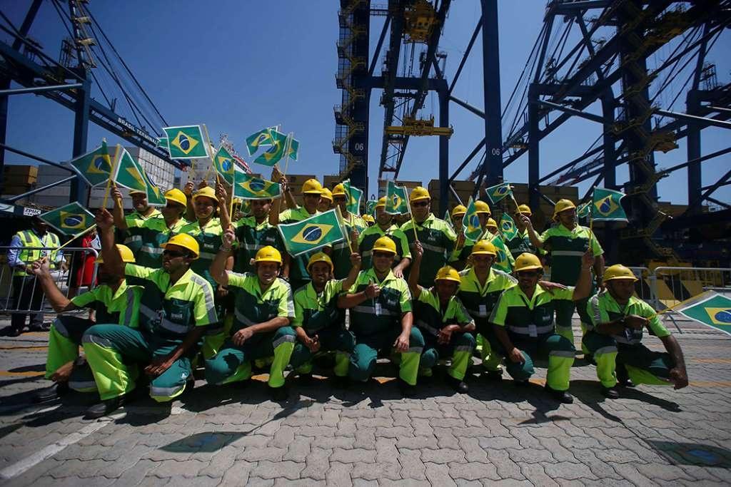 Cabotaje, inversiones privadas y accesos ferroviarios: los planes en marcha del nuevo puerto de Santos