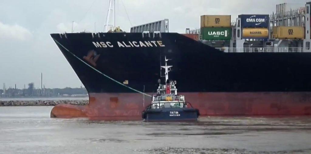 Importaciones y exportaciones frenadas por un paro de gremios marítimos