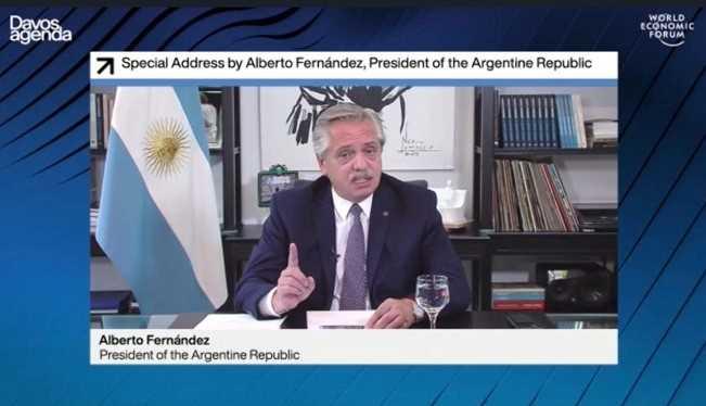 """Fernández: """"Hay que vincular el multilateralismo con la multisolidaridad"""""""