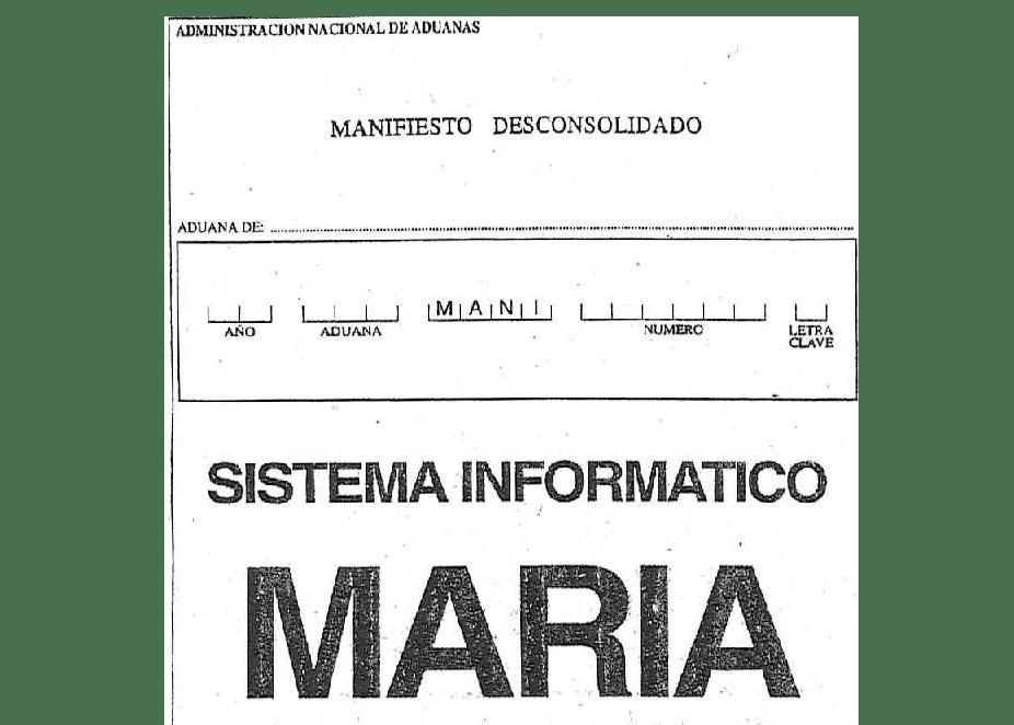 Autorizan la presentación digital del manifiesto desconsolidado de importación