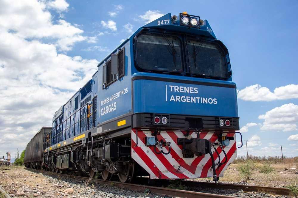 Trenes Argentinos Cargas transportó 15% más durante 2020