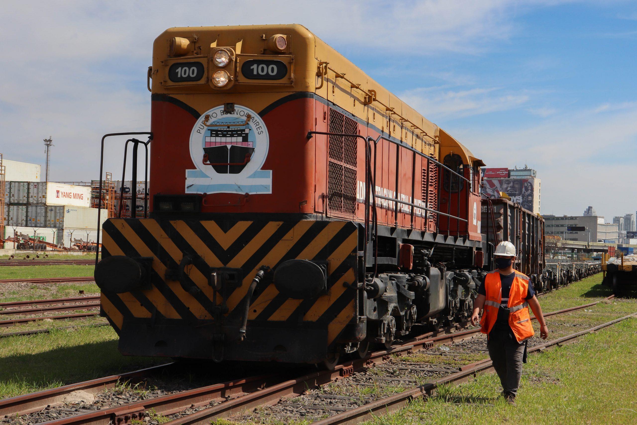 Se incrementó un 80% el movimiento ferroviario en las terminales