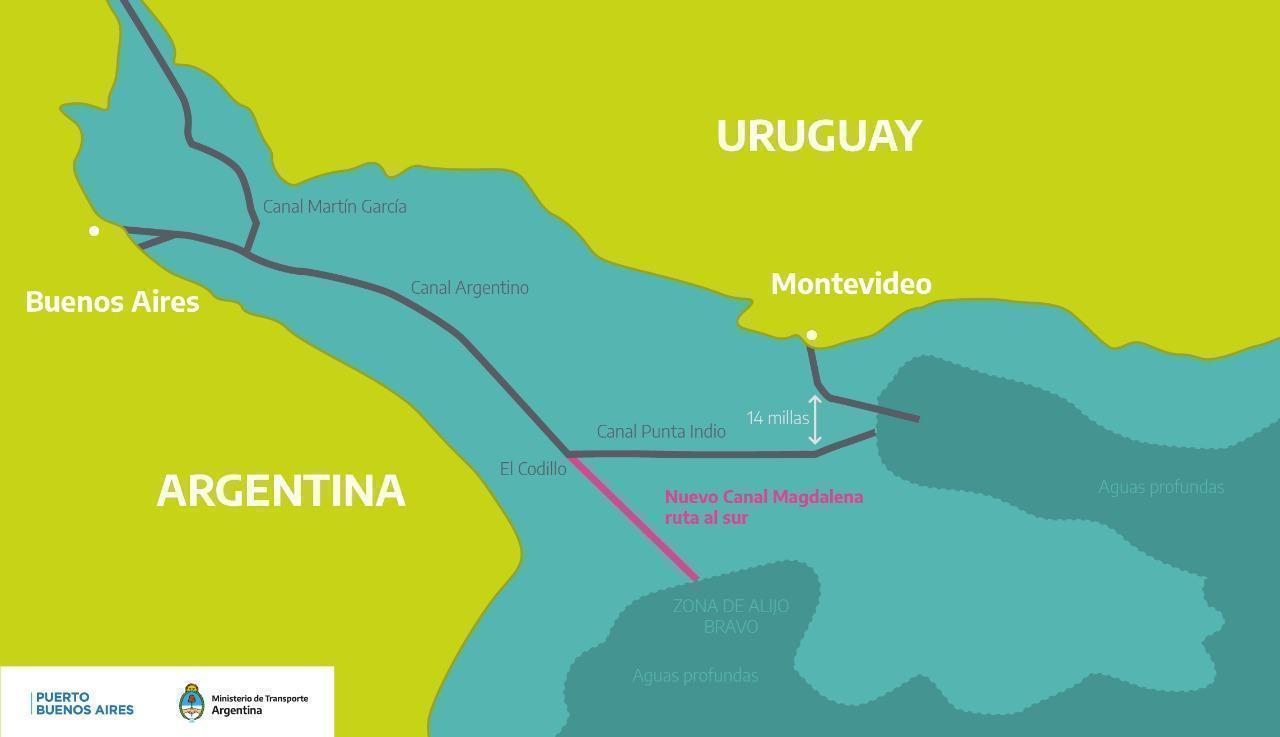 Transporte avanza en la elaboración de los pliegos para licitar el Canal Magdalena