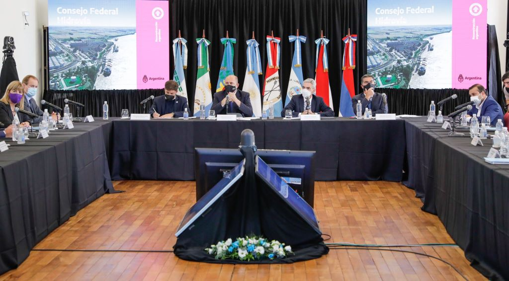 Cuáles fueron las definiciones oficiales durante el primer encuentro del Consejo Federal Hidrovía