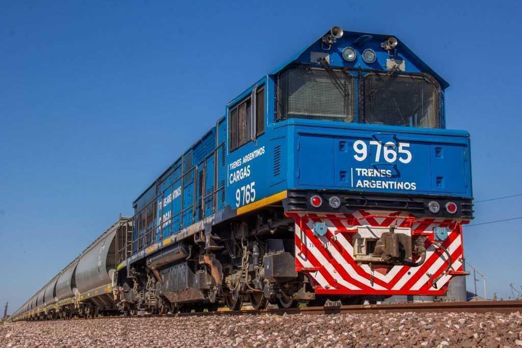 La carga operada por ferrocarril volvió marcar un récord