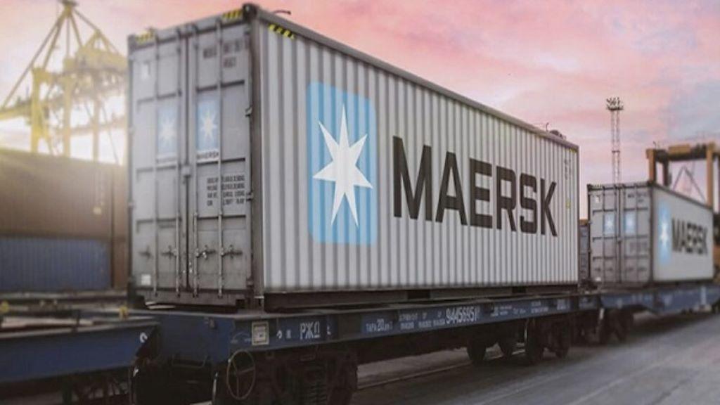 El tren, la nueva apuesta logística de Maersk en Chile