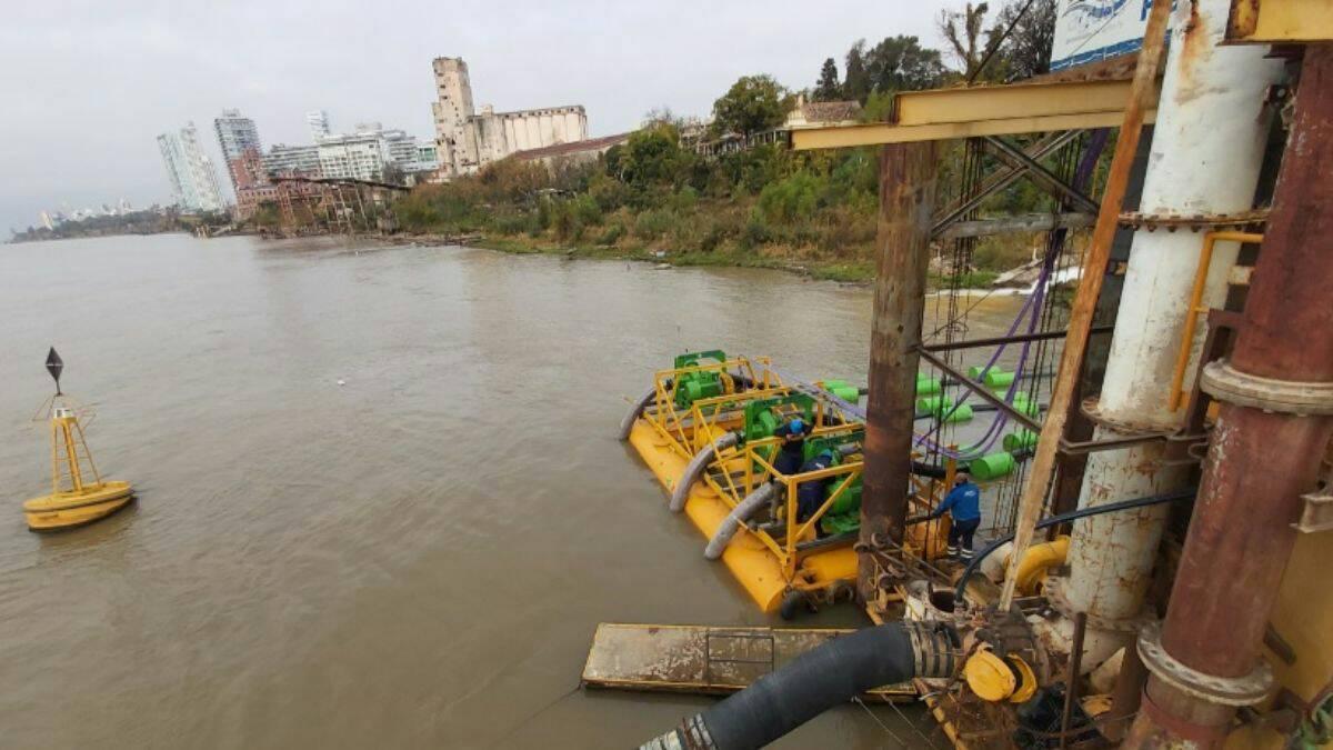 Los niveles de agua en el río Paraná son los más bajos de los últimos 75 años