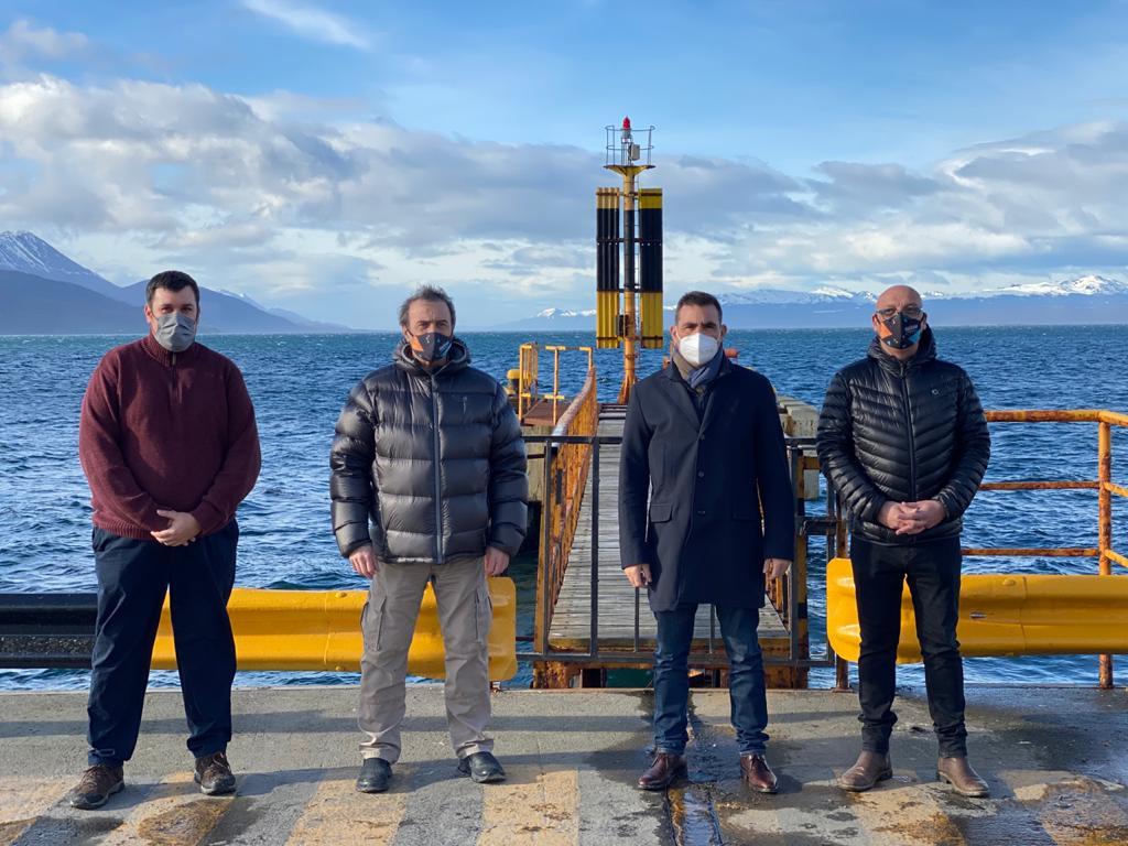 Evalúan 5 puntos para ubicar las cabecera del cruce austral marítimo que vinculará a Tierra del Fuego con Santa Cruz