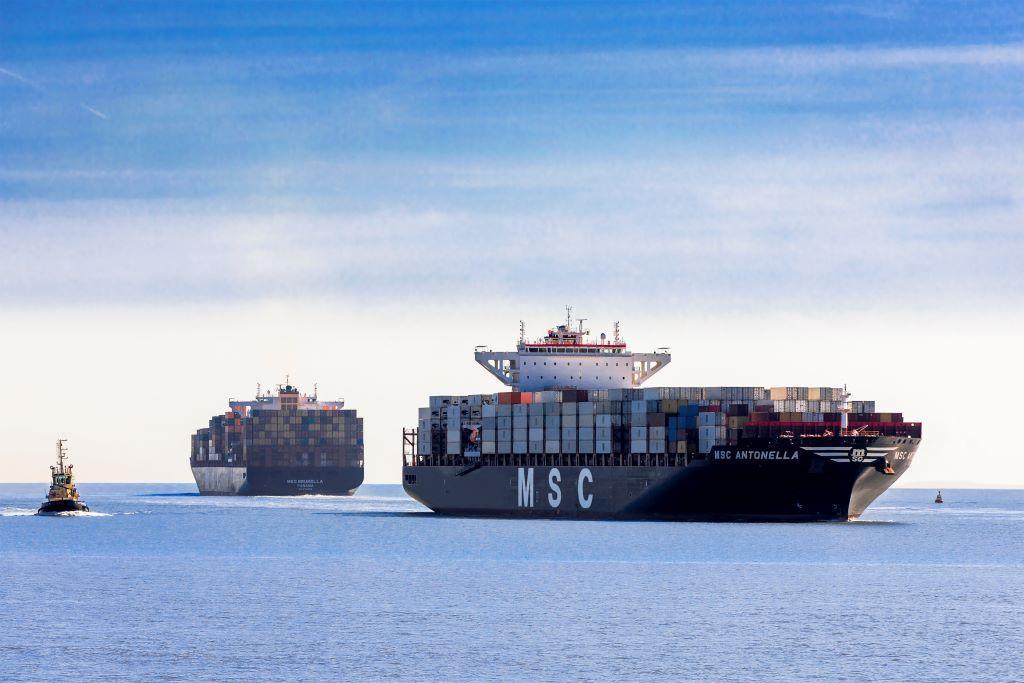 MSC sostiene la importancia del transporte marítimo en medio de la crisis