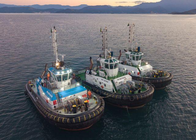 Brasil introduce más remolcadores sustentables en sus operaciones marítimas
