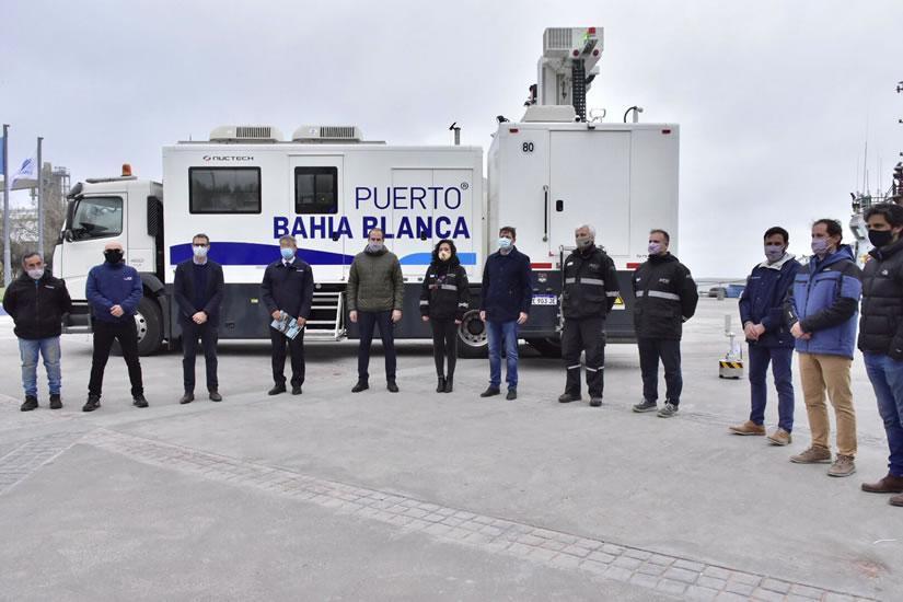 Consorcio portuario adquiere un escáner móvil para optimizar operaciones