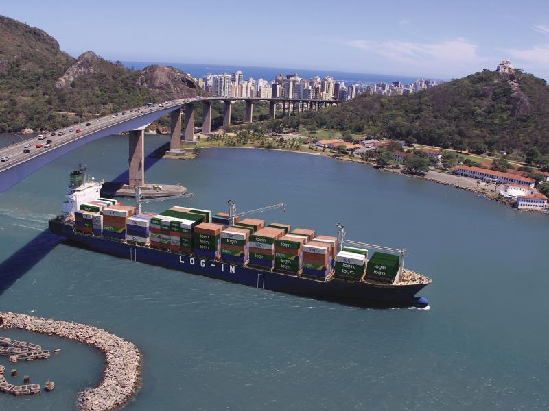 MSC presentó una oferta para controlar el 67% de la naviera brasileña Log-In
